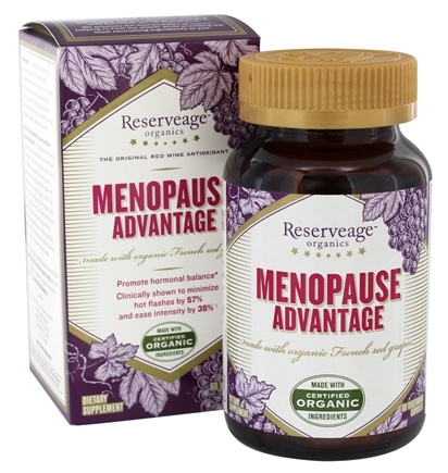 DROPPED: ReserveAge Organics - Menopause Advantage - 60 Vegetarian Capsules