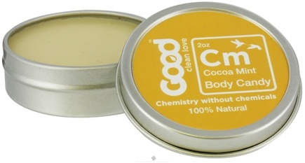 DROPPED: Good Clean Love - Body Candy 100% Natural Cocoa Mint - 2 oz.