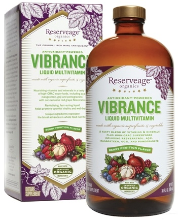 DROPPED: ReserveAge Organics - Vibrance Liquid Multivitamin - 30 oz.