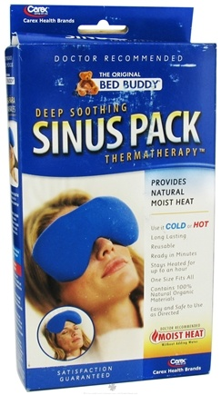 DROPPED: Bed Buddy - Thermatherapy Deep Soothing Sinus Pack Navy - CLEARANCE PRICED