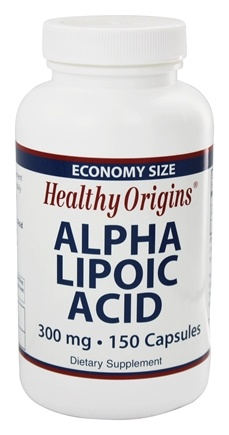 DROPPED: Healthy Origins - Alpha Lipoic Acid 300 mg. - 150 Capsules