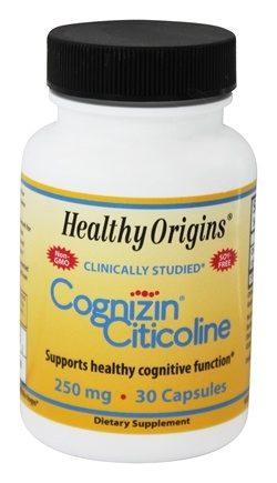 Healthy Origins - Cognizin Citicoline 250 mg. - 30 Capsules