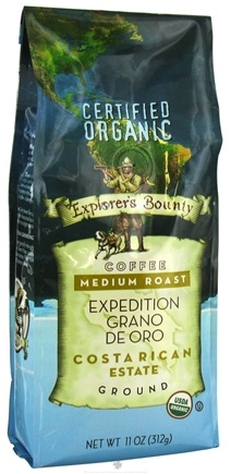 DROPPED: Explorer's Bounty - Organic Coffee Expedition Grano De Oro - 11 oz.