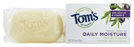 Tom's of Maine - Natural Beauty Bar Daily Moisture - 4 oz.