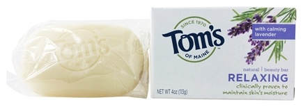 Tom's of Maine - Natural Beauty Bar Relaxing - 4 oz.
