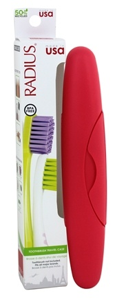 Radius - Toothbrush Travel Case Source and Intelligent BPA-Free