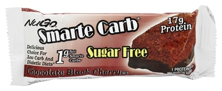 NuGo Nutrition - Smarte Carb Bar Chocolate Black Cherry - 1.76 oz.