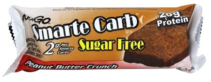 NuGo Nutrition - Smarte Carb Bar Sugar Free Peanut Butter Crunch - 1.76 oz.