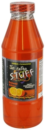 DROPPED: Freedom Wholesalers - The Extra Stuff Herbal Cleansing Liquid Natural Citrus - 20 oz.