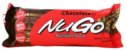 NuGo Nutrition - To Go Protein Bar Chocolate - 1.76 oz.