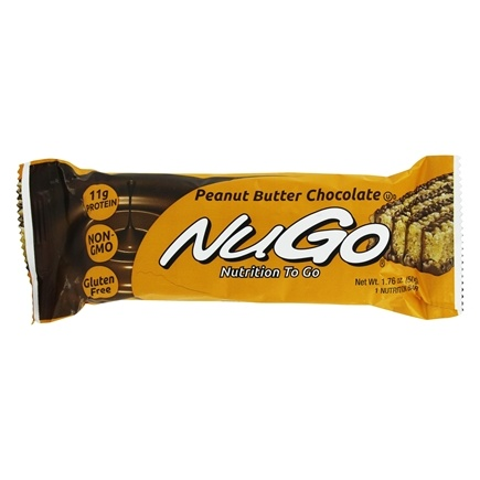 NuGo Nutrition - To Go Protein Bar Peanut Butter Chocolate - 1.76 oz.