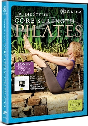 DROPPED: Gaiam - Trudie Styler's Core Strength Pilates DVD - CLEARANCE PRICED