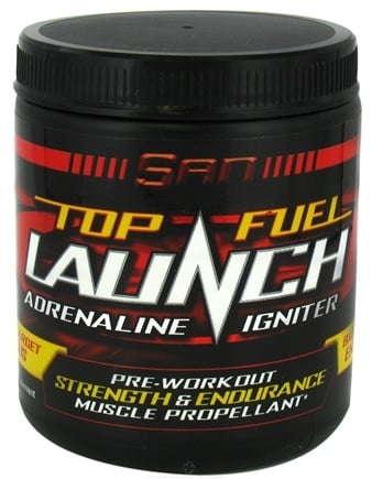 DROPPED: SAN Nutrition - Top Fuel Launch Adrenaline Igniter - 240 Caplets CLEARANCE PRICED