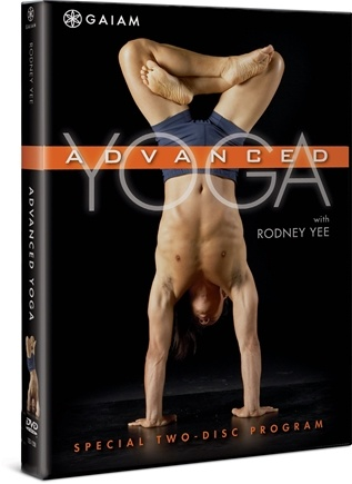 DROPPED: Gaiam - Advanced Yoga DVD with Rodney Yee - CLEARANCE PRICED