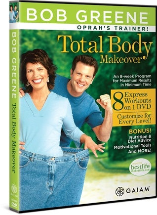 DROPPED: Gaiam - Total Body Makeover DVD with Bob Greene - CLEARANCE PRICED