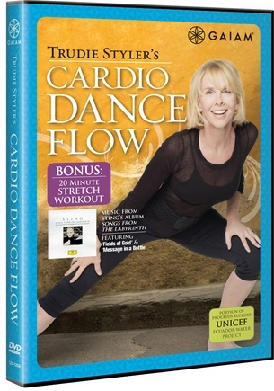 DROPPED: Gaiam - Trudie Styler's Cardio Dance Flow DVD - CLEARANCE PRICED