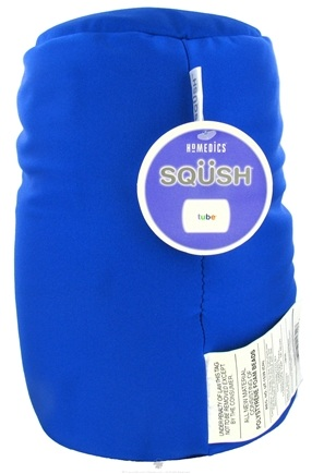 DROPPED: HoMedics - SQUSH Tube Pillow SQ-TUBE-BLU Blue - CLEARANCE PRICED
