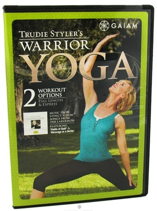 DROPPED: Gaiam - Trudie Styler's Warrior Yoga DVD