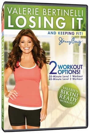DROPPED: Gaiam - Losing It & Keeping Fit DVD with Valerie Bertinelli - CLEARANCE PRICED