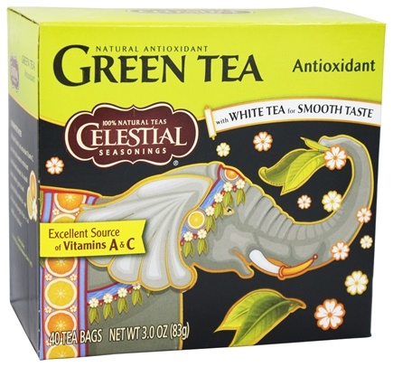 DROPPED: Celestial Seasonings - Antioxidant Green Tea - 40 Tea Bags