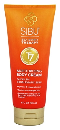 Sibu Beauty - Sea Buckthorn Body Cream - 6 oz.