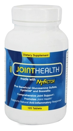 Nutritional Therapeutics - Joint Health with NT Factor - 120 Tablets