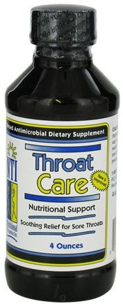 DROPPED: Nutritional Therapeutics - Throat Care - 4 oz. CLEARANCE PRICED