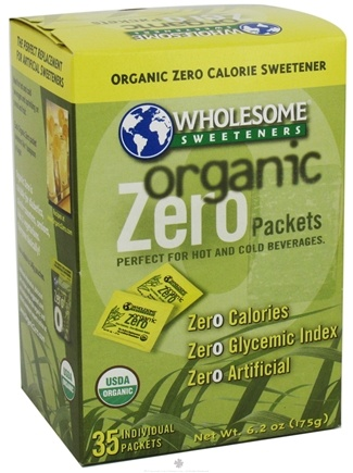 DROPPED: Wholesome! - Organic Zero 35 x 6.2 oz. Individual Packets