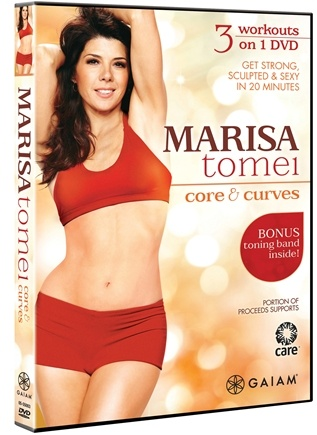 DROPPED: Gaiam - Core & Curves DVD with Marisa Tomei - CLEARANCE PRICED
