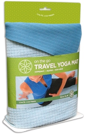 DROPPED: Gaiam - Travel Yoga Mat - CLEARANCE PRICED