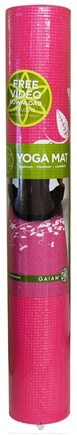 DROPPED: Gaiam - Yoga Mat Dragonfly Hydrangea - CLEARANCE PRICED
