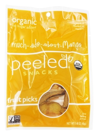 Peeled Snacks - Organic Fruit Picks Much-ado-about-Mango - 1.4 oz.