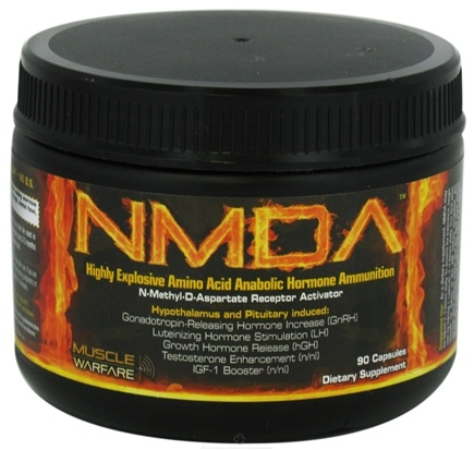 DROPPED: Muscle Warfare - NMDA D-Aspartic Acid (DAA) Formula - 90 Capsules