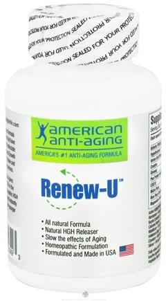 DROPPED: American Anti-Aging Society - GHR Renew-U - 80 Capsules
