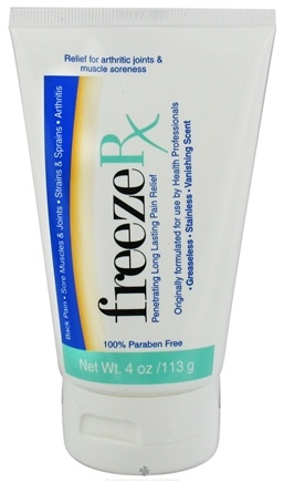 DROPPED: FreezeRx - Pain Relief Cream - 4 oz.