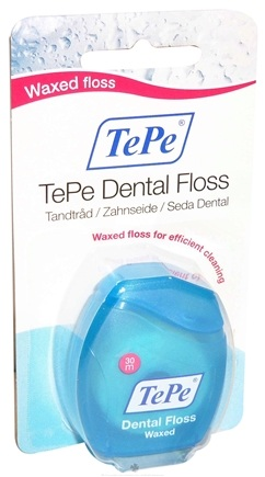 DROPPED: TePe Oral Health Care - Dental Tape Soft Waxed Floss - 25 Meter(s)