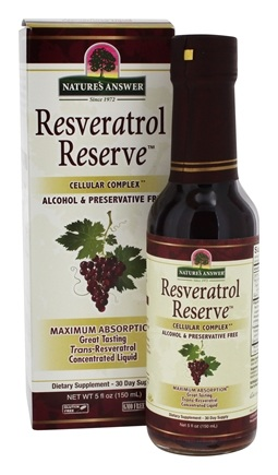 Nature's Answer - Resveratrol Reserve Cellular Longevity Complex - 5 oz.