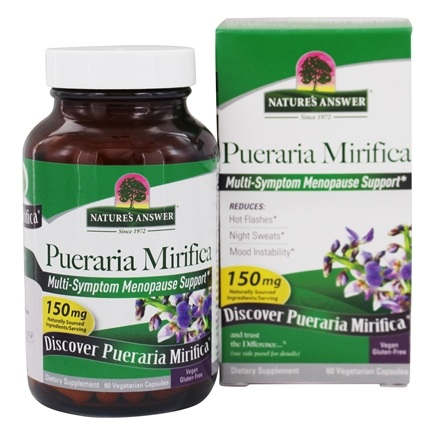 Nature's Answer - Pueraria Mirifica Estro Balance with DIM - 60 Vegetarian Capsules