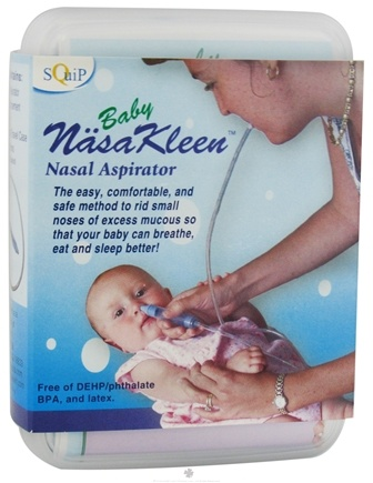 DROPPED: Squip - NasaKleen Nasal Aspirator for Babies - CLEARANCE PRICED