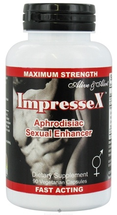 DROPPED: Nature's Answer - ImpresseX Aphrodisiac Sexual Enhancer - 90 Vegetarian Capsules