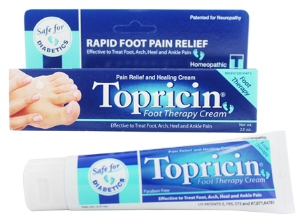 Topical BioMedics - Topricin Foot Therapy Cream - 2 oz.