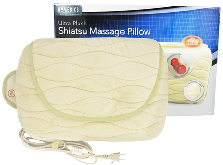 DROPPED: HoMedics - Ultra Plush Shiatsu Massage Pillow SP-20H Beige - CLEARANCE PRICED