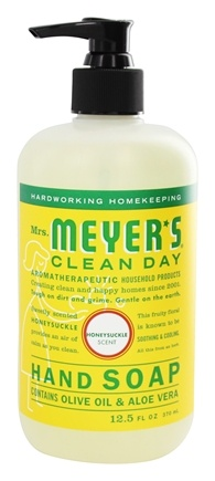 Mrs. Meyer's - Clean Day Liquid Hand Soap Honeysuckle - 12.5 oz.