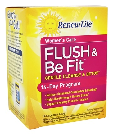 ReNew Life - Brenda Watson's Vital Woman Flush & Be Fit 3 Part Kit Plus Probiotcs - 14 Pack(s)