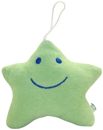 DROPPED: Green Sprouts - Organic Cotton Splash Toy 3+ Months Aquatic Starfish Sage Green