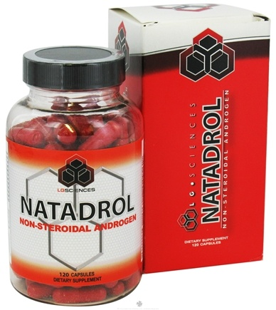 DROPPED: LG Sciences - Natadrol Non-Steroidal Androgen - 120 Capsules CLEARANCE PRICED