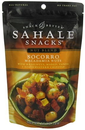 DROPPED: Sahale Snacks - Nut Blend Socorro Macadamia Nuts - 5 oz.