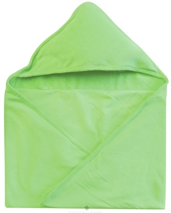 "DROPPED: Green Sprouts - Organic Cotton Knitted Hooded Towel 30"" x 30"" Green"