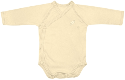 DROPPED: Green Sprouts - Origins Organic Bodysuit Long Sleeve Wrap Newborn 0-3 Months Bamboo
