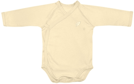 DROPPED: Green Sprouts - Origins Organic Bodysuit Long Sleeve Wrap Small 3-6  Months Bamboo